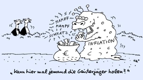 Was den Anlegern droht, wenn Inflation kommen sollte