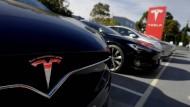 Nicht bei der IAA zu sehen: Tesla