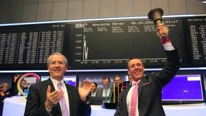 Covestro-Aktien starten bei hohem Umsatz über Ausgabepreis