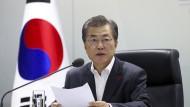 Südkoreas Präsident Moon Jae-in