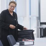 Hat schon einmal einen wichtigen Teilsieg errungen: Die alleinerziehende Steuerberaterin Reina Becker.