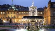 Schlossplatz in Stuttgart: Baden-Württemberg will bei bei der Pensionsvorsorge grüner werden.