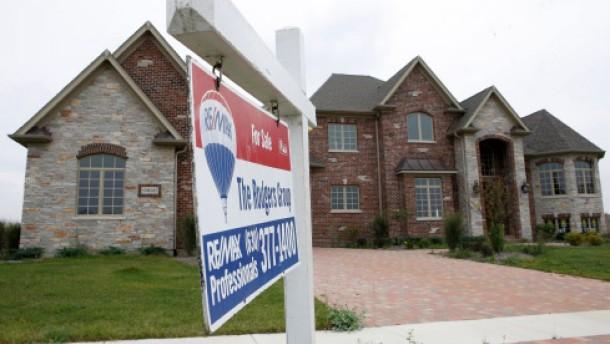 Risikofaktor schwacher Häusermarkt