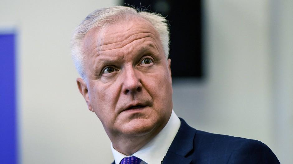 Olli Rehn ist Gouverneur der finnischen Zentralbank und Mitglied im Rat der EZB