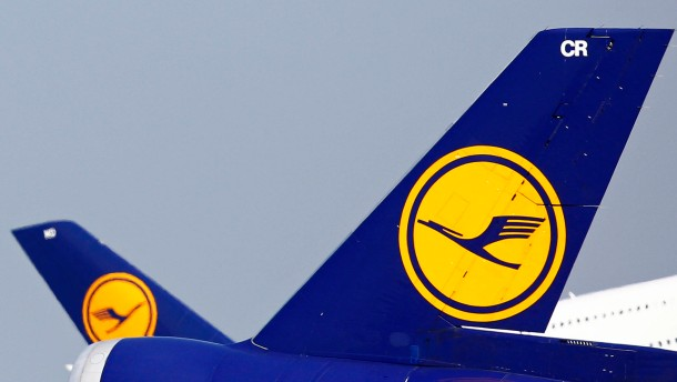 Lufthansa fällt tief