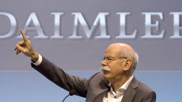 Daimler und Allianz drücken Dax