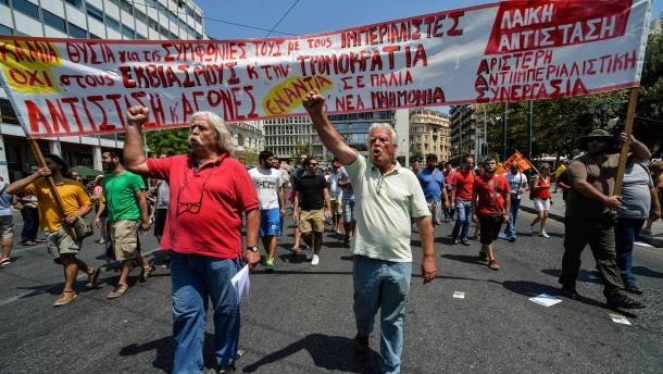 Generalstreik in Griechenland
