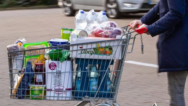 Inflationsrate in der Eurozone steigt auf 2 Prozent