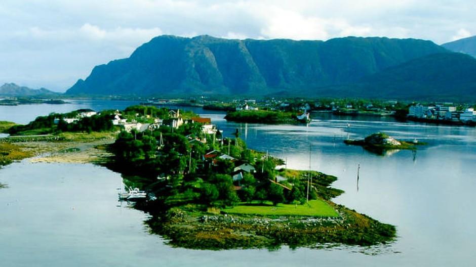 In Norwegen gibt es nicht nur schöne Fjorde, sondern auch reiche Gas- und Ölquellen.
