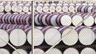 Der Ölpreis hat am Montag deutlich nachgegeben.