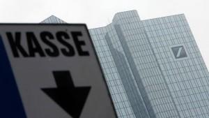 Britische Bankaktien hängen deutsche Rivalen ab