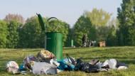 Was Müll in den Städten kostet