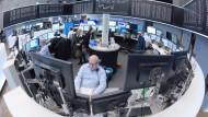 Blick in den Handelssaal der Deutschen Börse in Frankfurt