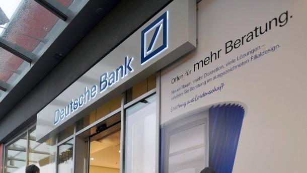 Deutsche Bank mit großen Ambitionen