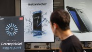 Das Galaxy 7 bereitet auch Samsung-Aktionären Kopfzerbrechen.