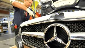 Daimler mit Rekordabsatz im September
