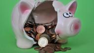 Sparschwein: Zur Plünderung freigegeben