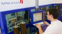 Maschinen zur Fertigung von Blu-ray Discs sind immer noch ein Kernprodukt von Singulus.