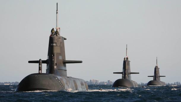 Brisanter U-Boot-Verkauf an Australien