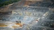 Eine Goldmine von Barrick Gold in Pueblo Viejo.