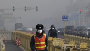 Ein Ring aus Bäumen soll den Smog in Peking stoppen