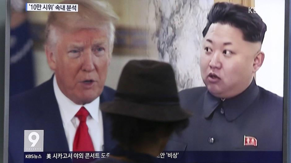 Amerikas Präsident Trump und Nordkoreas Machthaber Kim Jong Un beeinflussen seit Tagen die Börsenkurse.