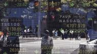 Die Börse in Tokio.