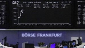 Deutscher Aktienmarkt geht ruhig ins Wochenende