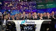 Da war die IPO-Welt noch in Ordnung: Der Börsengang der Wanda Sports Group im Sommer.