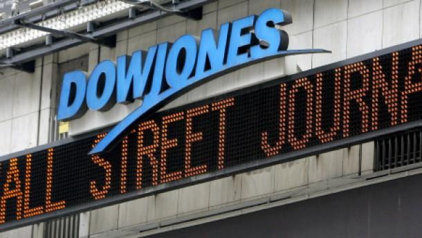 Fliegender Wechsel im Dow Jones