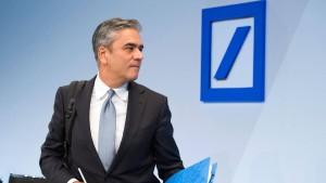 Die nervöse Deutsche Bank