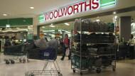 Woolworths in Sydney macht jetzt schon um 20 Uhr dicht.