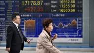 Die Börse in Tokio hat sich am Donnerstag deutlich erholt.