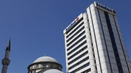 Zentrale der Deniz Bank in Istanbul