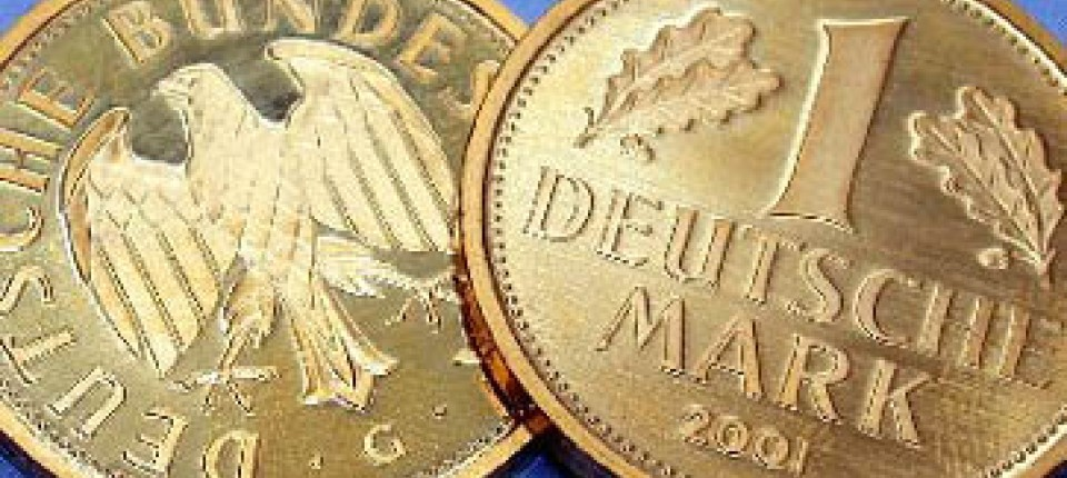 Münzen Abschied Von Der D Mark Vergoldet Finanzen Faz