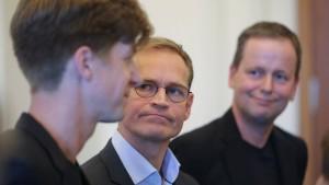 Rot-rot-grüne Koalitionsverhandlungen