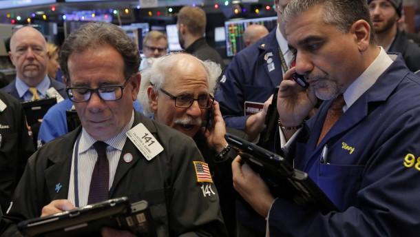 Dow Jones steigt erstmals über 20.000 Punkte
