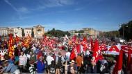 Generalstreik in Italien