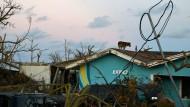 Der Wirbelsturm Dorian hat große Schäden auf den Bahamas angerichtet