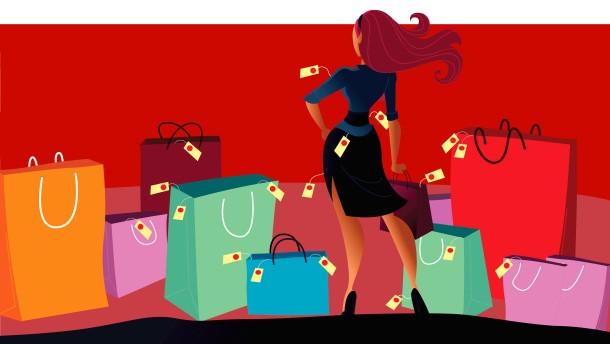 caa728a8b3df54 Richtig konsumieren  Geld ausgeben mit Spaß - Das große Shoppen - FAZ