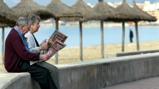 Immer mehr Rentner leben im Ausland