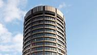 Hauptquartier der Bank für Internationalen Zahlungsausgleich in Basel