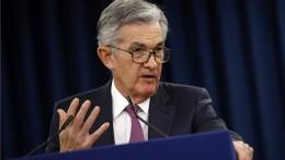 Notenbank-Chef Powell mahnt zur Vorsicht wegen Firmenverschuldungen