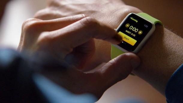 Goldene Apple Watch, selbstgemacht
