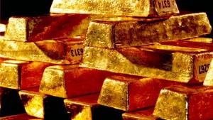 Kleine Rückkehr des Goldes
