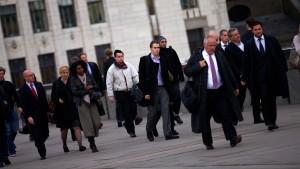 Die Londoner City entlässt massenhaft ihre Banker