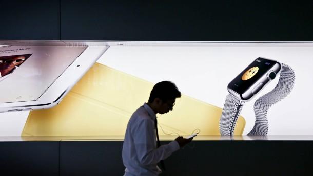Was ist bloß mit der Apple-Aktie los?
