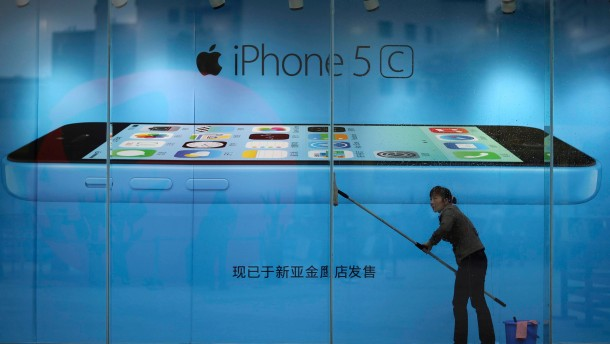 Apple verkauft Millionen iPhones nach China