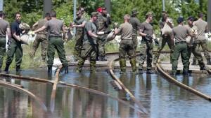 Umweltminister konferieren zum Hochwasser