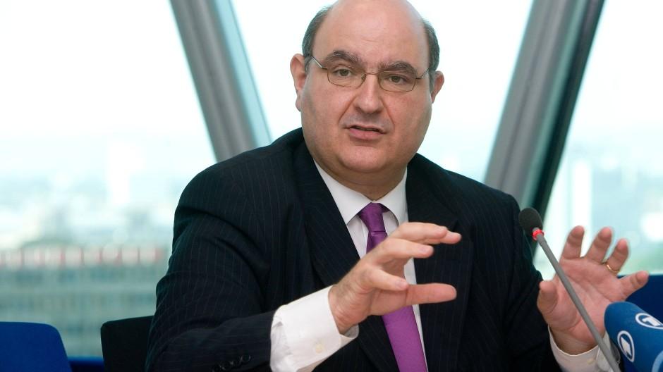 Gabriel Bernardino, Präsident der EU-Versicherungsaufsicht Eiopa